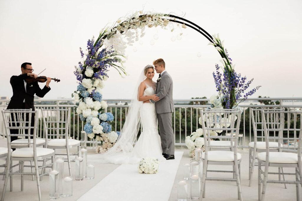 Luna - Moon Gate Wedding Arch