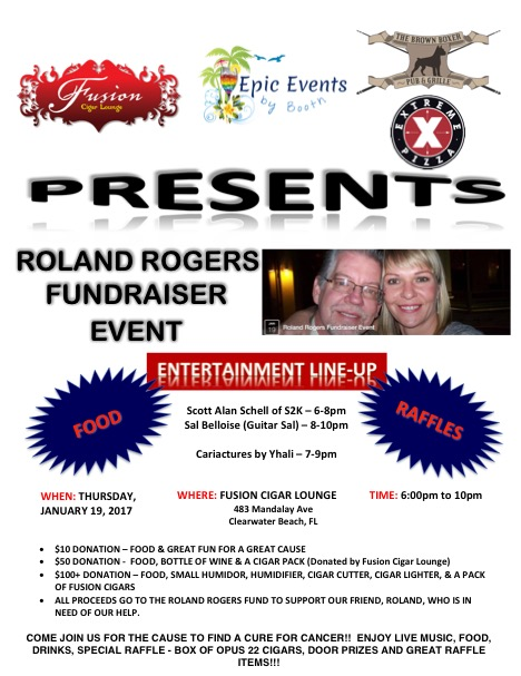 Epic Events by Booth, Inc. - Roland Rogers Fundraiser Event Flyer