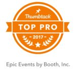 Epic Events by Booth, Inc. - Thumbtack Top Pro 2017